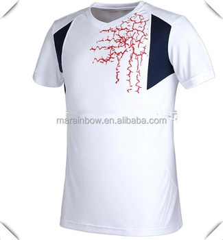 Technical Dry Fit Printing Running T Shirts Breathable