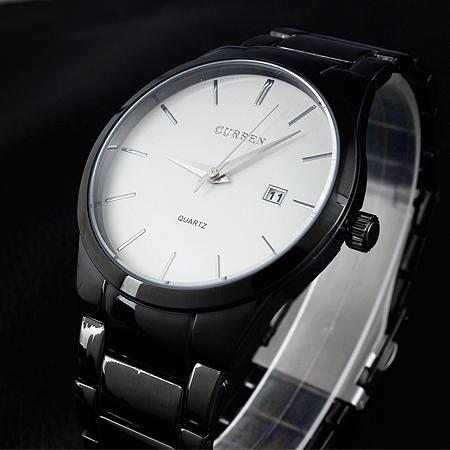 2015 CURREN люксовый бренд из нержавеющей стали наручные мужские кварцевые платье часы водонепроницаемые часы дата часы relogios masculinos