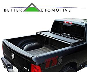BETTER AUTOMOTIVE 2015-2016 FORD F150 6.5ft (78 inch) Short Bed Tonneau Cover Tri-Fold Cover