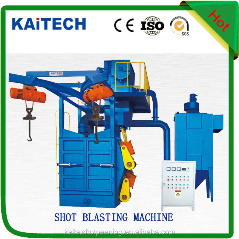 hanger/hook type shot blasting machine with CE certificate