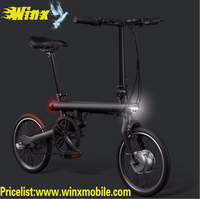 Original for xiaomi folding electric bike Mi QI Cycle Smart Electric Bicycle Portable e-bike white/black