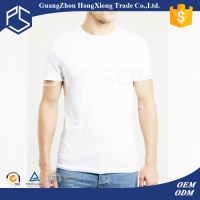 Men surplus branded white plain organic cotton slim fit t-shirts