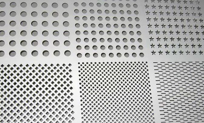Stair Railing Perforated Metal Mesh Cheap Perforated Sheet