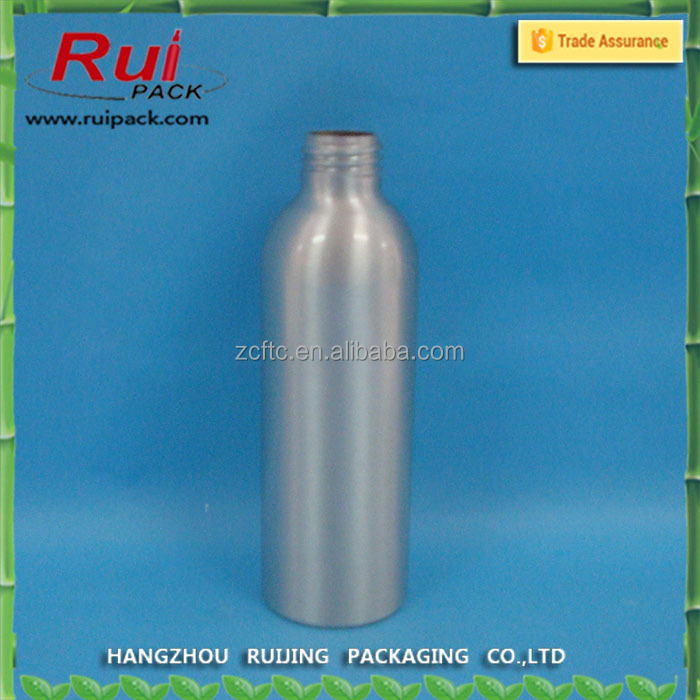 150ml aluminum bullet bottle , metal bottles with silver color
