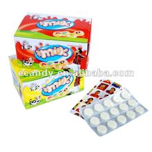 2012 hot sell milk tablet candy,milk candies