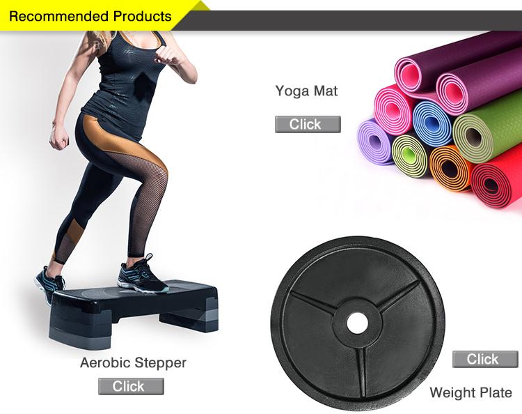Personalizzato Top palestra attrezzature esercizio piastre in ghisa sollevamento pesi