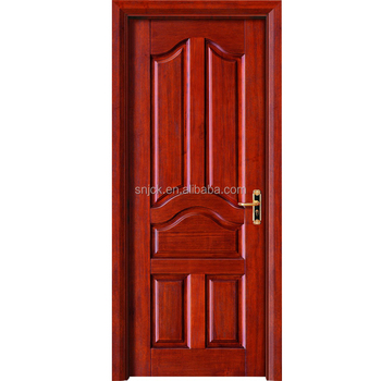 Hot Sale Single Or Double Soild Wooden Interior Doorsolid Bedroom