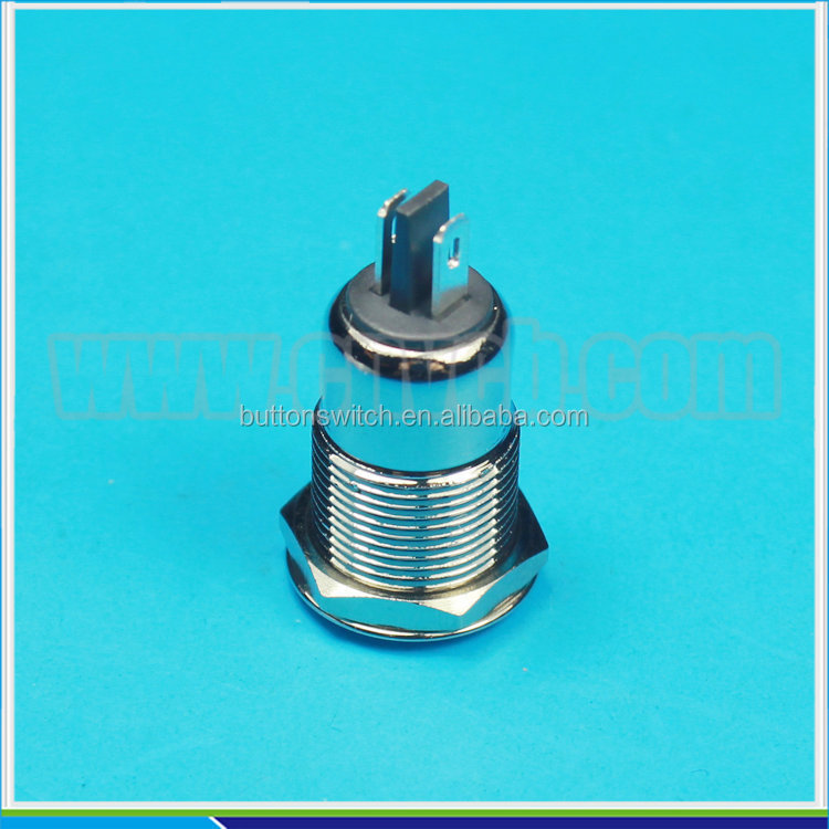 IN08 Economic electricity saving hot sale 12mm metal waterproof warning LED Indicator 24V