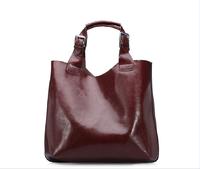 2016 Lady luxury design lady's handbag fashion leather women hobo bag with factory price