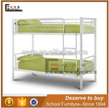 Hot selling heavy duty metal steel double bed with mattress designs