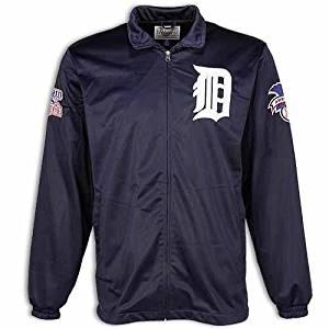 1984 World Series Champs Detroit Tigers Track Jacket, Blue, XL