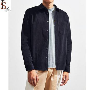 75fc47ca814d OEM factory supplier formal wholesale men's dress shirt long Sleeve  corduroy dress shirts for men latest