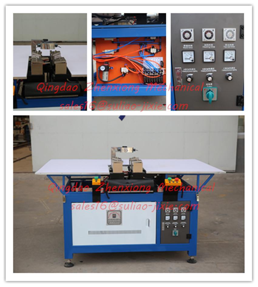 Automatic Refrigerator door gasket welding machine for soft PVC profile