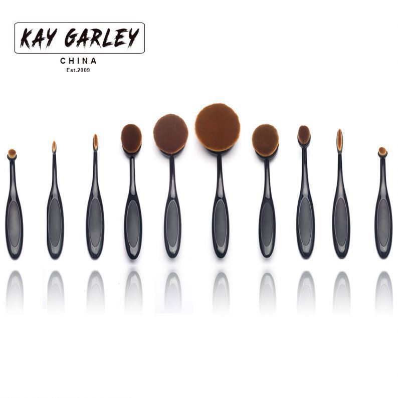 New Fashion 5pcs/Set Excellent Foundation Powder Blush Brush Make Up Facial Care Face Cosmetic Makeup Brushes sets
