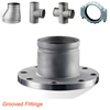 stainless steel grooved flange