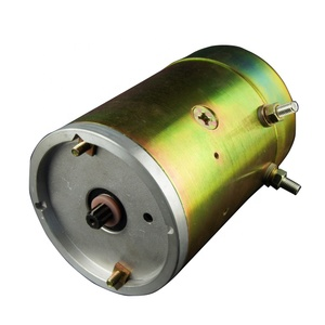 12/24 Volt Hydraulic Power Units Electric DC Pump Motor Manufacturer for Van Truck's Tail-lift Mechanism