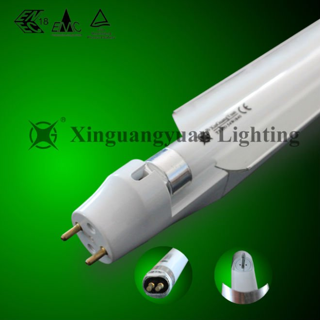 T8 to T5 fluorescent tube light adaptor