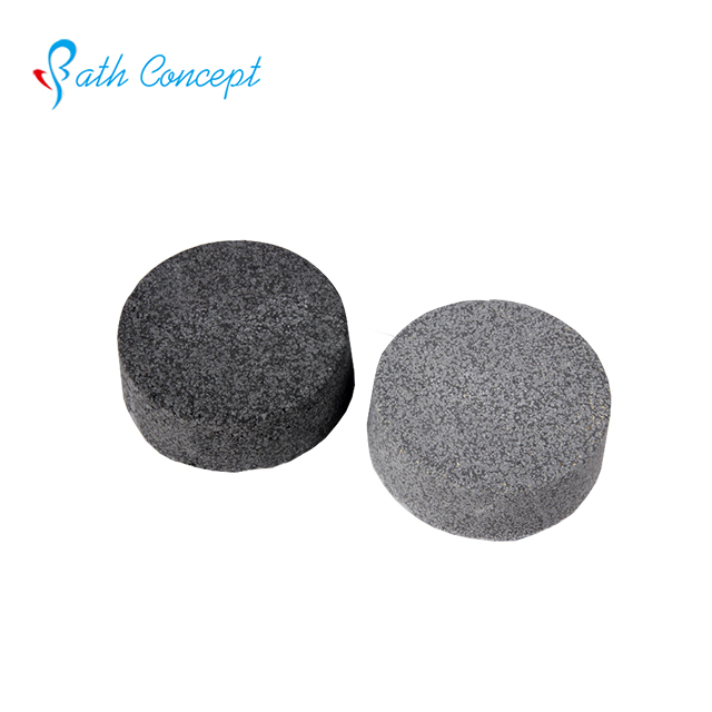 Charcoal diamond shape bath bombs wholesale