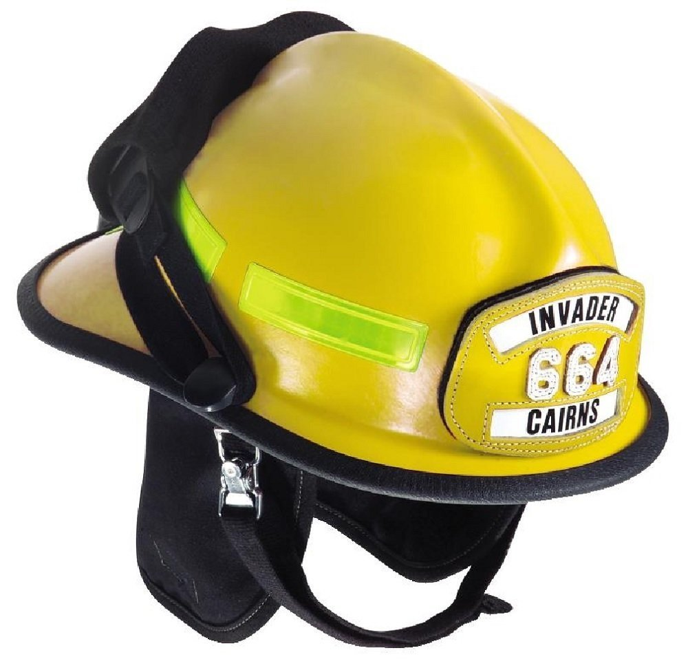 Buy Msa Safety 664fdy Cairns Fire Helmet With 4 Tuffshield Deluxe