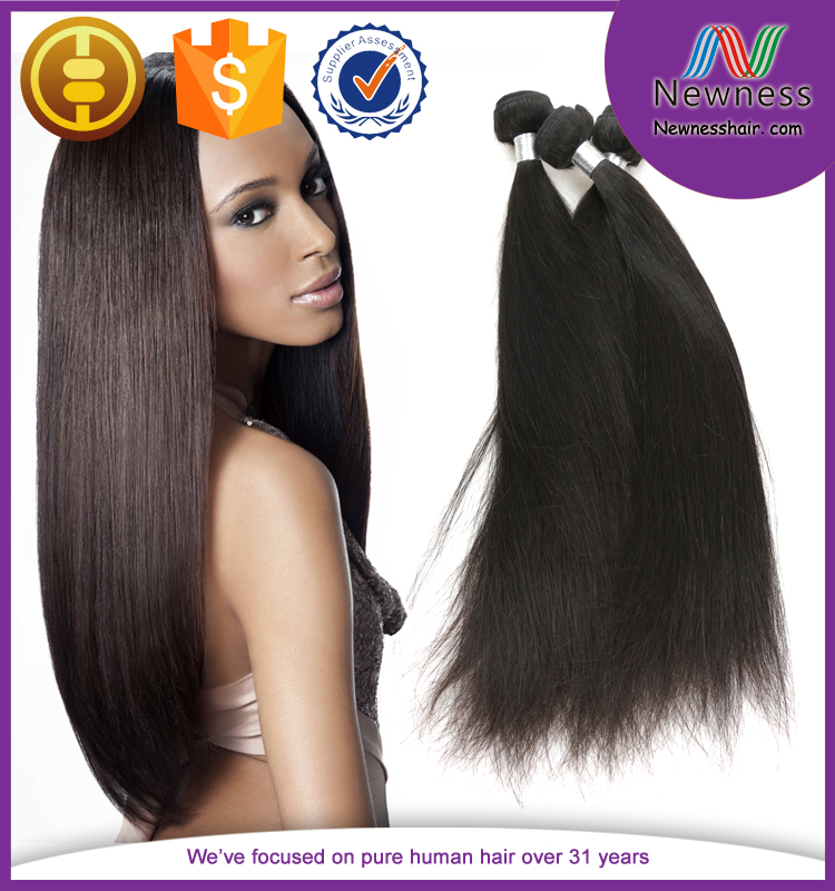 100 virgin brazilian hair unprocessed remy hair fashionable wavy remy human straight hair