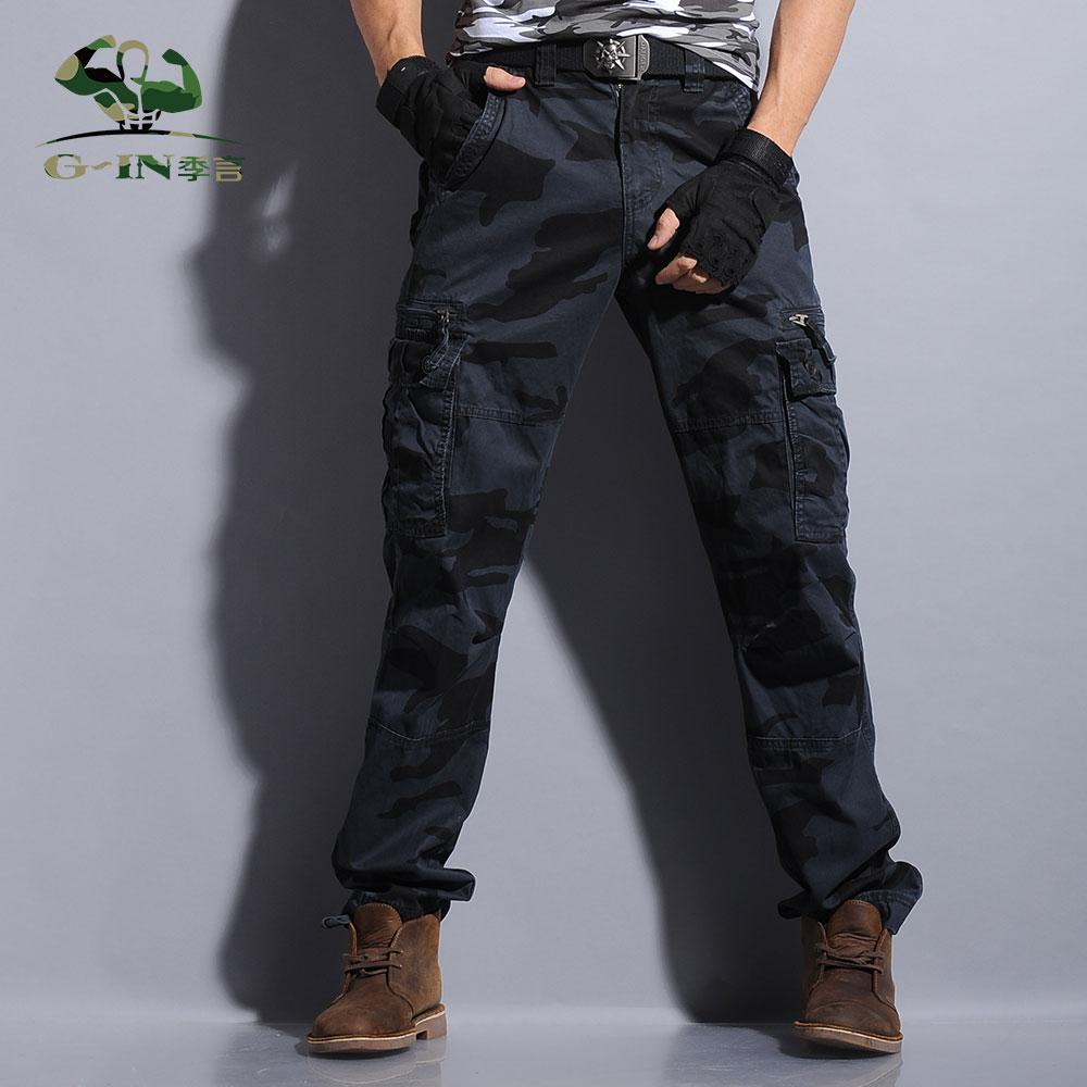 black tactical cargo pants - photo #9