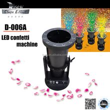 DMX512 Electric LED confetti machine blower cannon machine