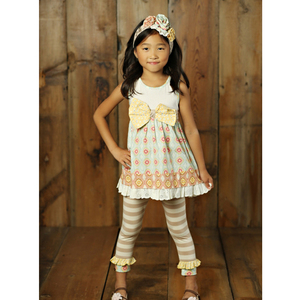 Baby ruffle boutique clothing giggle moon remake summer girl outfits set