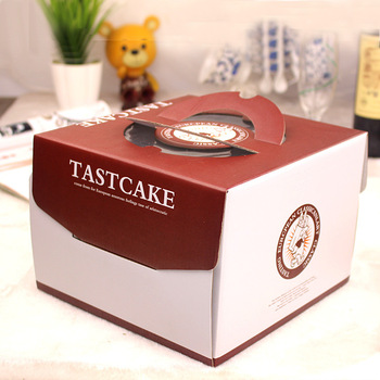 creative 4 6 8 10 12 inch handbag paper birthday cake box baking box for