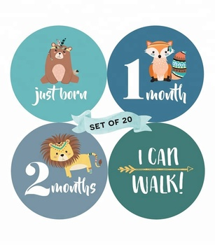 belly brags stickers free printable baby boy month stickers