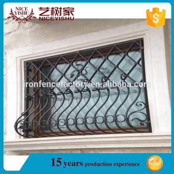 Simple Modern Wrought Iron Window Grill Design/metal Window Grills ...