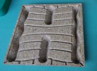 Reusbale electronics product handling presswood pallet
