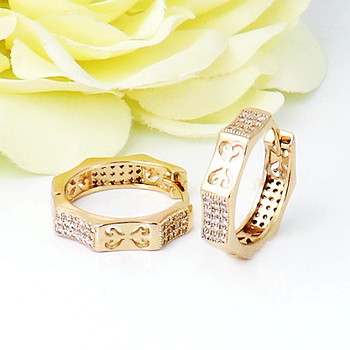 Cz Jewelry Saudi Arabia 22 Carat Gold Plated Copper Brass Changeable