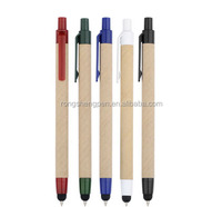 Eco-Friendly Stylus Paper Tube Ball Pen