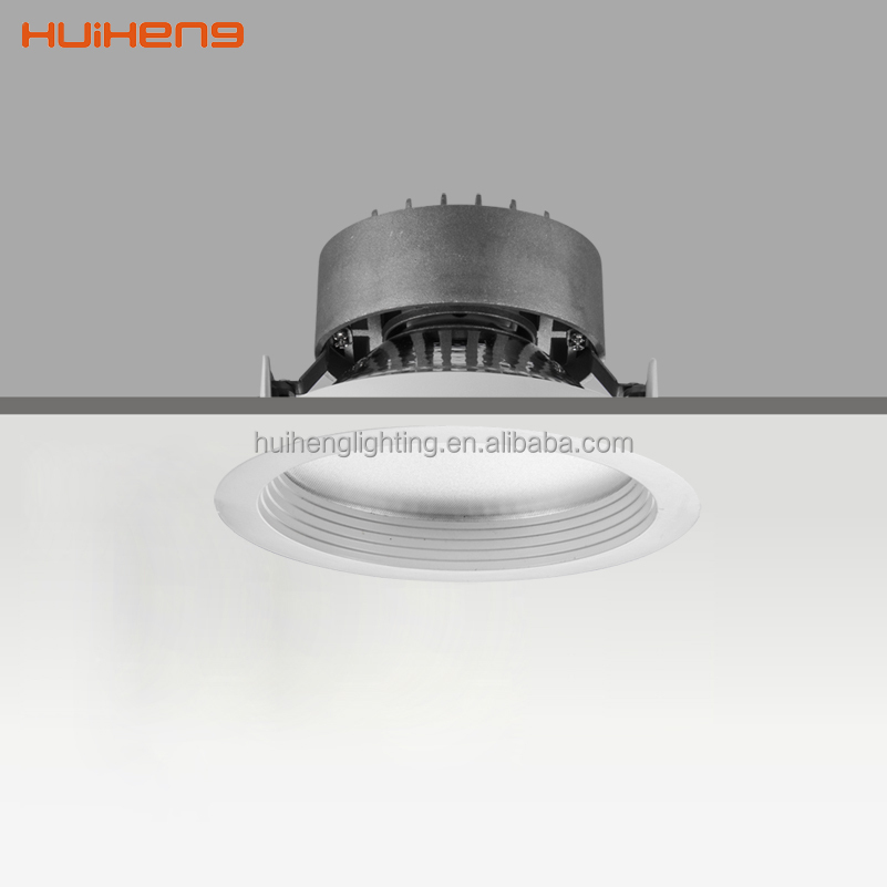 New design ugr 19 dimmable led downlights black fittings