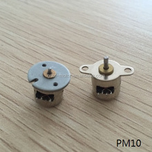 3V two phase 10BY small stepper motor for camera(10mm to 55mm)