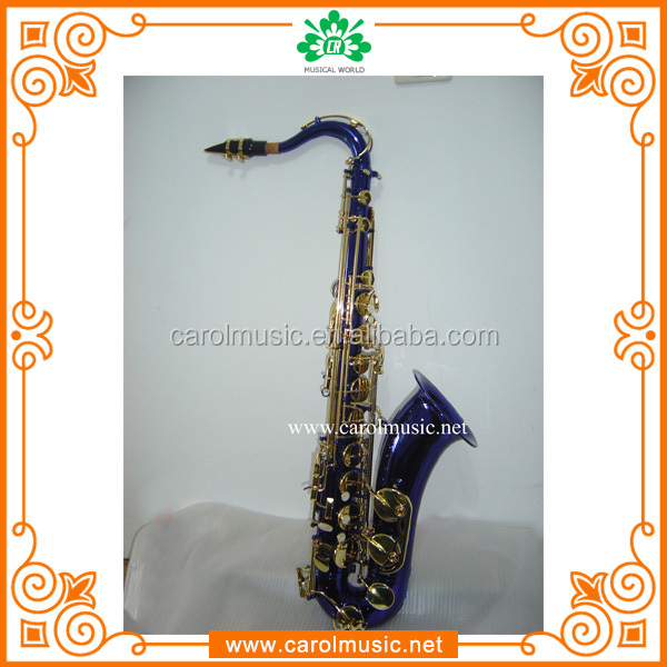 TS014 Hot selling black colored saxophone tenor