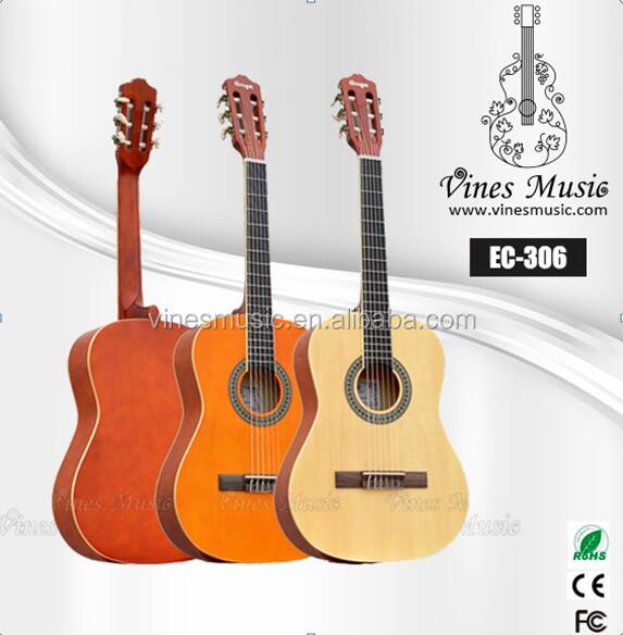 "Wholesale 3/4 size colorful student classical guitar 36"" EC-306"