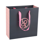 Boutibox BB-P7 Yiwu Luxury Ribbon Handles Gift Shopping Paper Bags With Your Own Logo