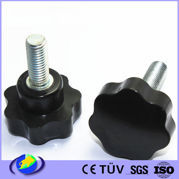 OEM electronic screw handle injection plastic molding parts supplier