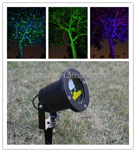 F e lumi re laser lumi res pour arbres de no l l for Arbre decoratif exterieur