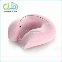 Custom China manufacturer high quality Memory Foam Travel Pillow