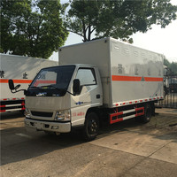 Large production JMC 4495kg weight fireworks carrier truck