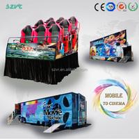 Top amusement park 7d cinema simulator 5d movie theater