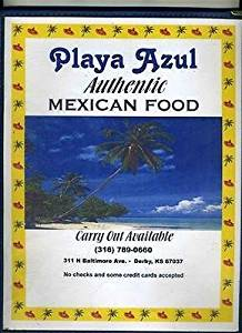 Playa Azul Authentic Mexican Food Restaurant Menus Derby Kansas