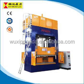 600 Ton Hydraulic Press Machine Wuxi Pengda Hpfs Type Hydraulic Servo Press  Machine For Stretching - Buy Heating Press,Thermoforming Press,Carpet