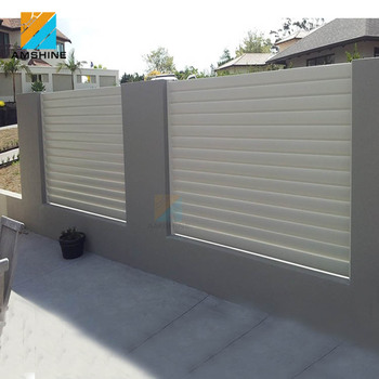 Nero alluminio recinzione e piscina pannelli di recinzione recinto in metallo verniciato a - Recinzione piscina legno ...