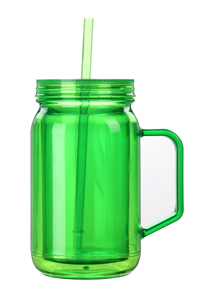 Mason Jar Large Capacity With Handle Candy Jar Suction Cup