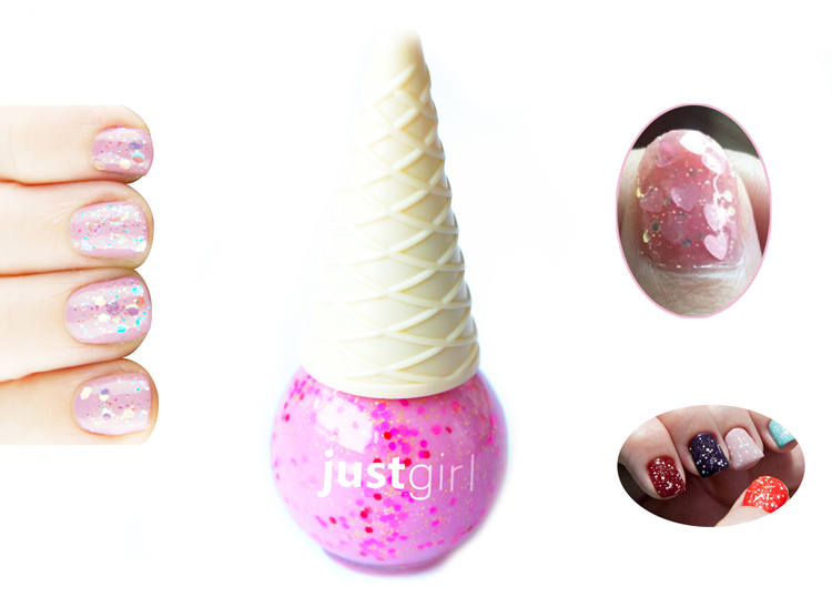 Hot Sell 4 Pack Ice Cream Oil Based Long Wear Nail Art For Teens ...