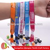 Free promotional sample branding fabric fastener can be printing logo wristband