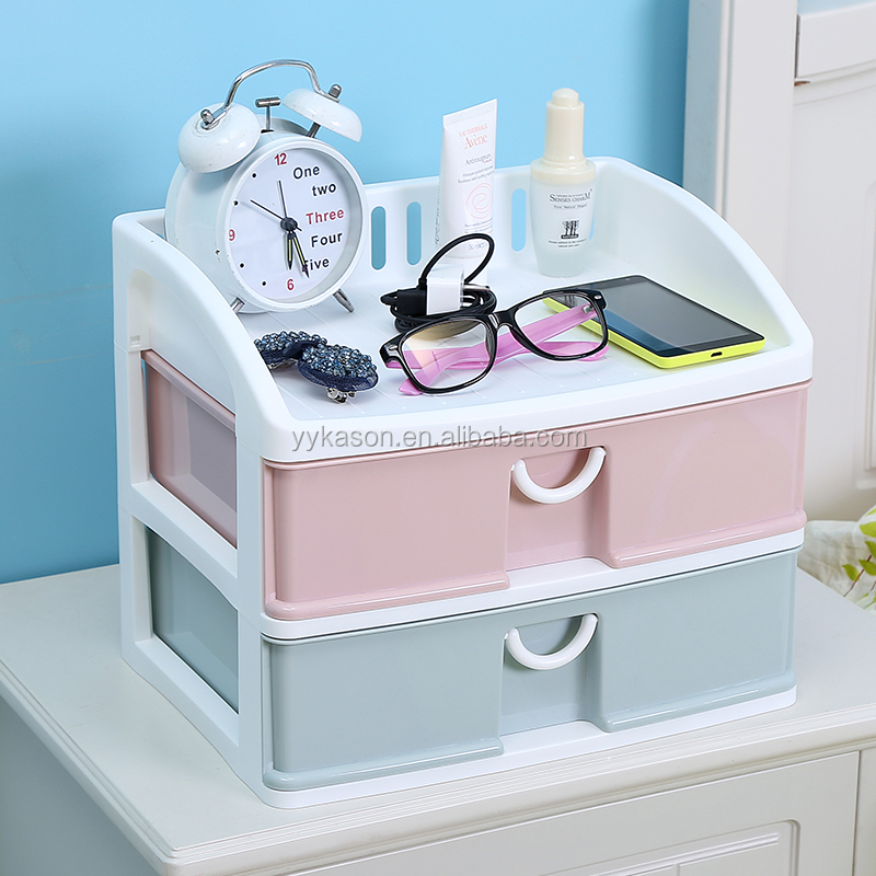 Small mini cheap cabinet tabletop stool box plastic cabinets storage drawers